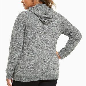 Torrid Marled Knit hoodie